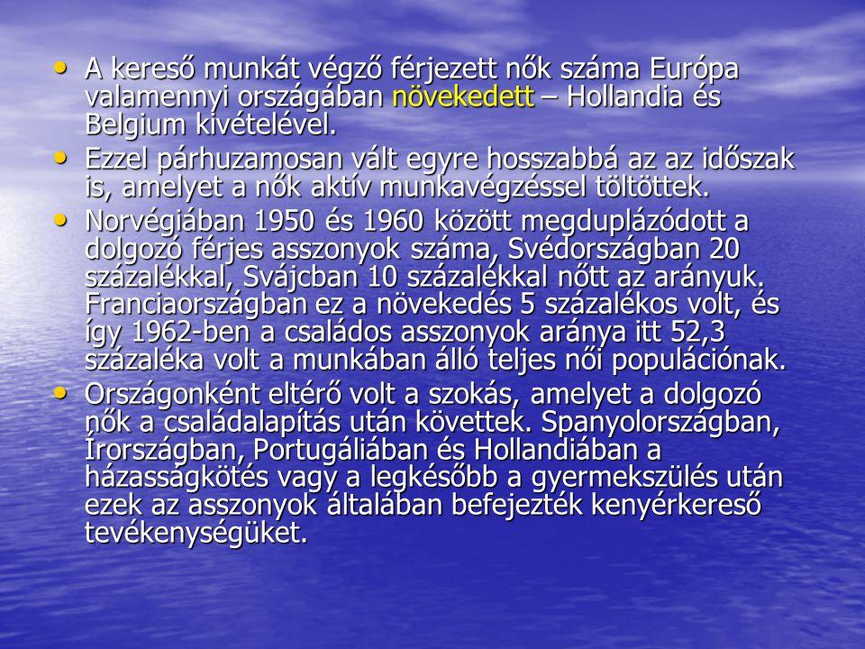 Az 1970-es évek a gazdasági recesszió időszakát hozták magukkal Európa számára.
