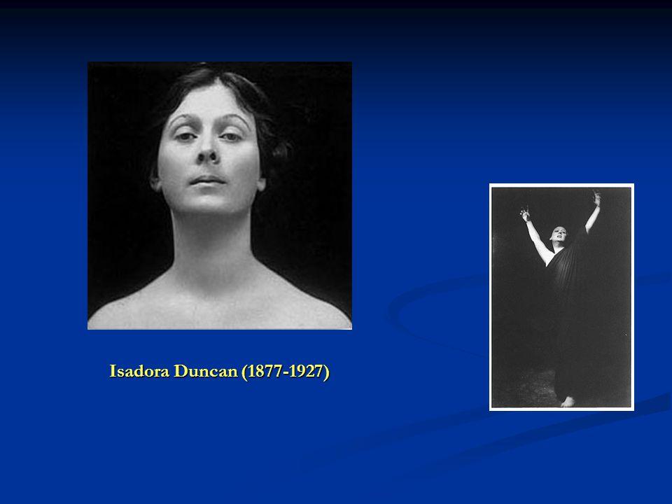 Isadora Duncan (1877-1927)