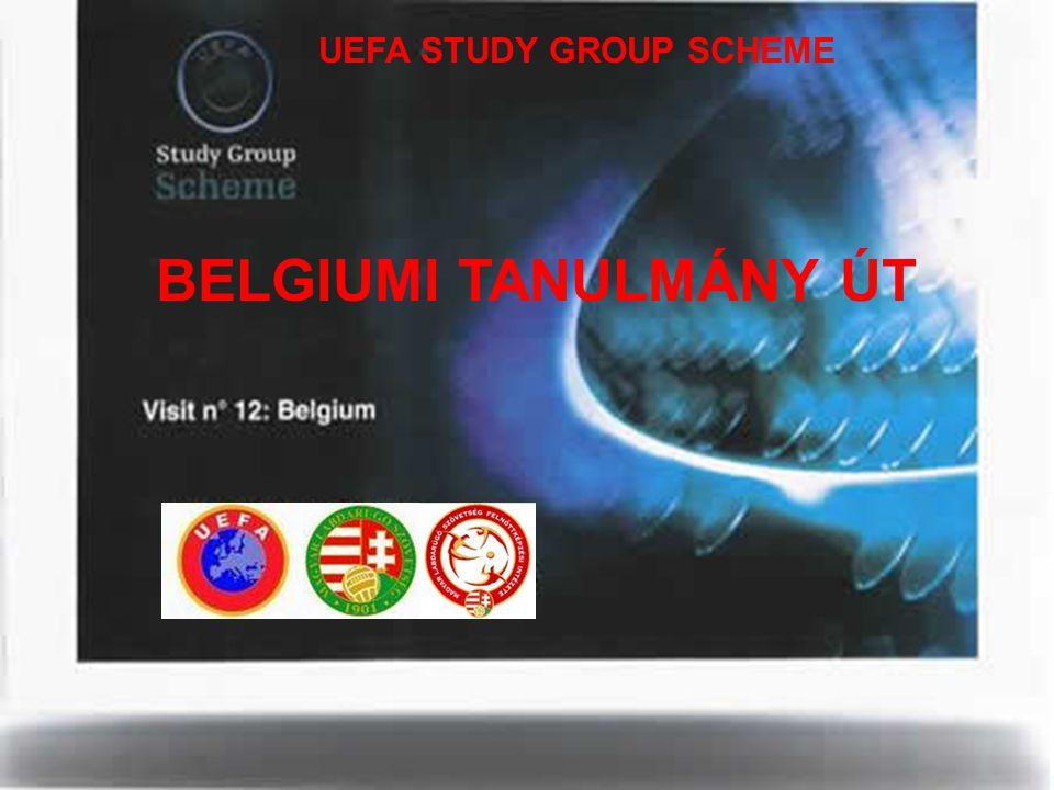 UEFA STUDY GROUP SCHEME BELGIUMI TANULMÁNY ÚT