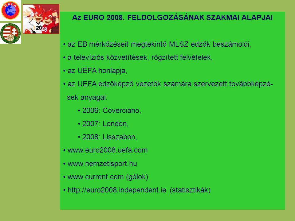 A SOKMOZGÁSOS TÁMADÓ JÁTÉK UEFA EDZŐKÉPZŐ VEZETŐK TOVÁBBKÉPZÉSE -2006 Coverciano, edzés bemutatók: olasz és spanyol edzőképző vezetők -2008 Lisszabon, edzésbemutatók: portugál, osztrák és román edzőképző vezetők
