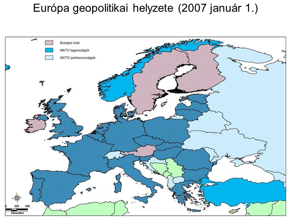 Az EU kibővülési folyamata (6) (9) (10) (12) (15) (25) (27)