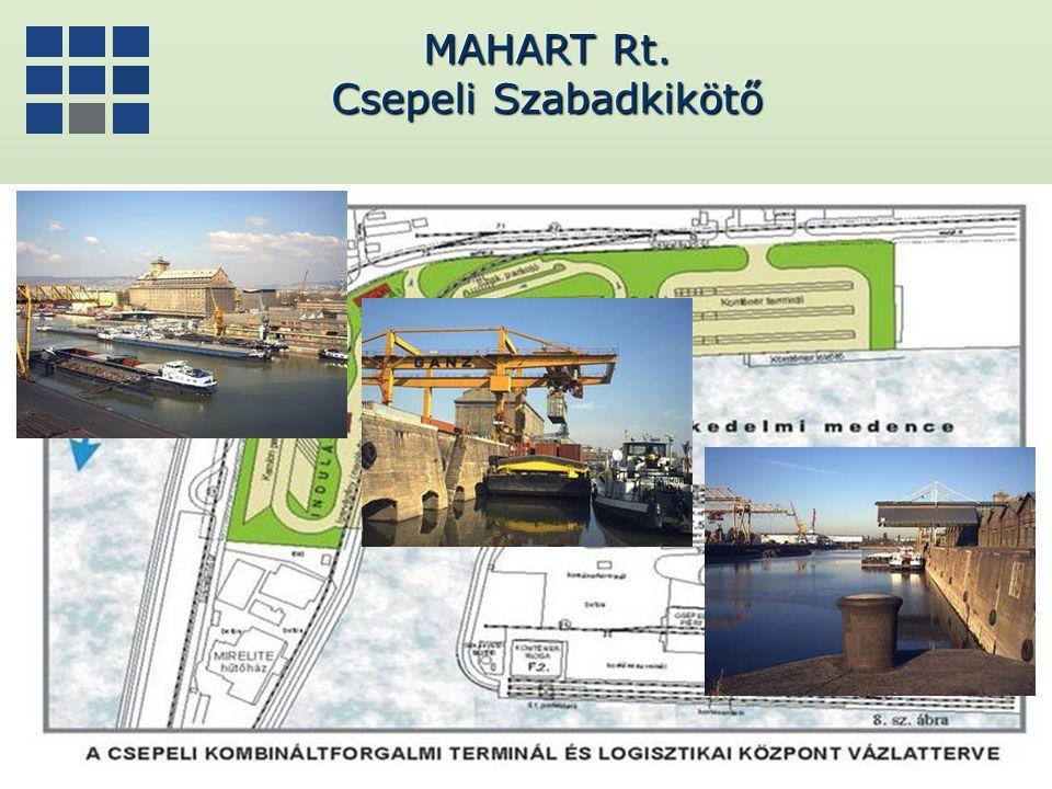 MAHART Rt. Csepeli Szabadkikötő MAHART Rt. Csepeli Szabadkikötő