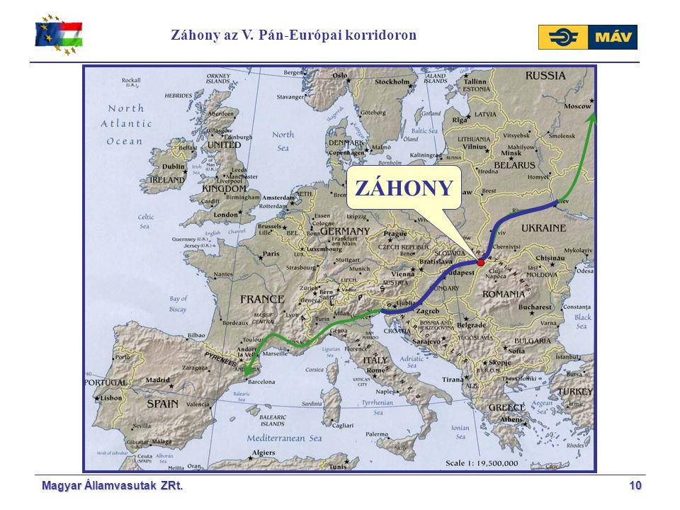 10 Záhony az V. Pán-Európai korridoron ZÁHONY