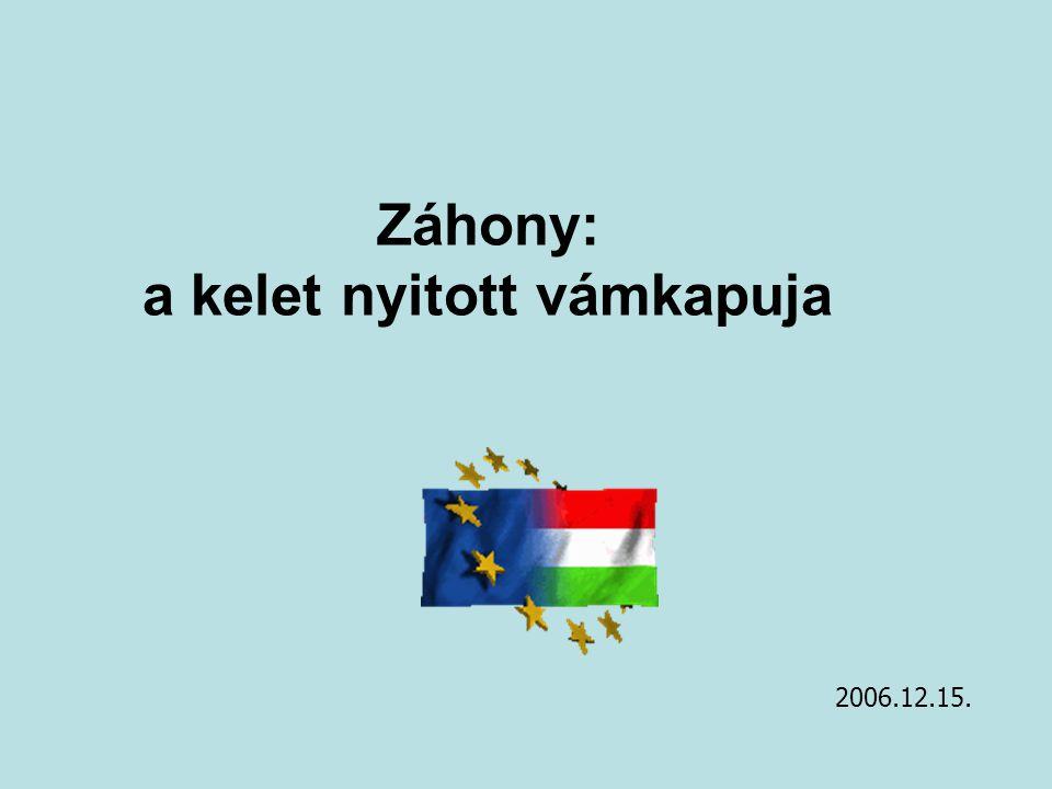 """2 Mérföldköveink EU-s csatlakozási """"előkészítő kavicsok , 2004."""