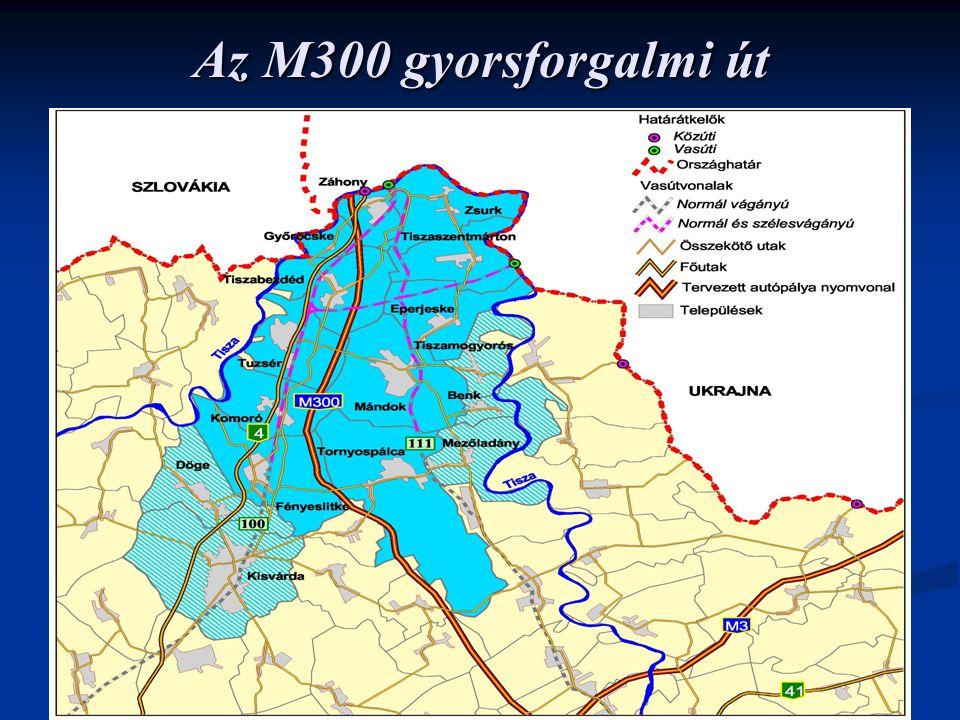 Az M300 gyorsforgalmi út