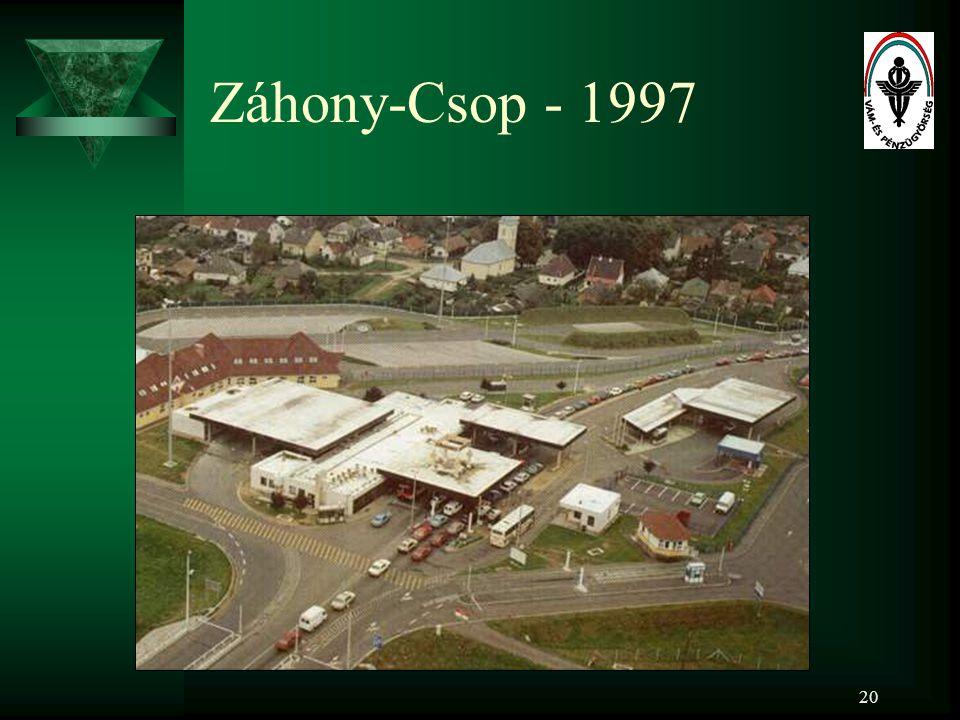 20 Záhony-Csop - 1997