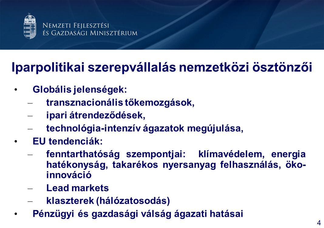 Logisztikai akcióterv: Jövőkép és Célok Jövőkép 2013-ra Magyarország a térség meghatározó logisztikai szolgáltató központja legyen Növekvő kereslet a magyar logisztikai szolgáltatások iránt Hatékonyabb logisztikai struktúra alakul ki Csökken a környezet- és a zajterhelés Célok Magyarország tranzit, illetve hátország potenciáljának kiaknázása Magas hozzáadott értékű logisztikai szolgáltatások elterjesztése Korszerű technológiák használatának elterjesztése Korszerűbb arányok kialakítása a vízi-, légi-, vasúti és közúti szállítás terén 15