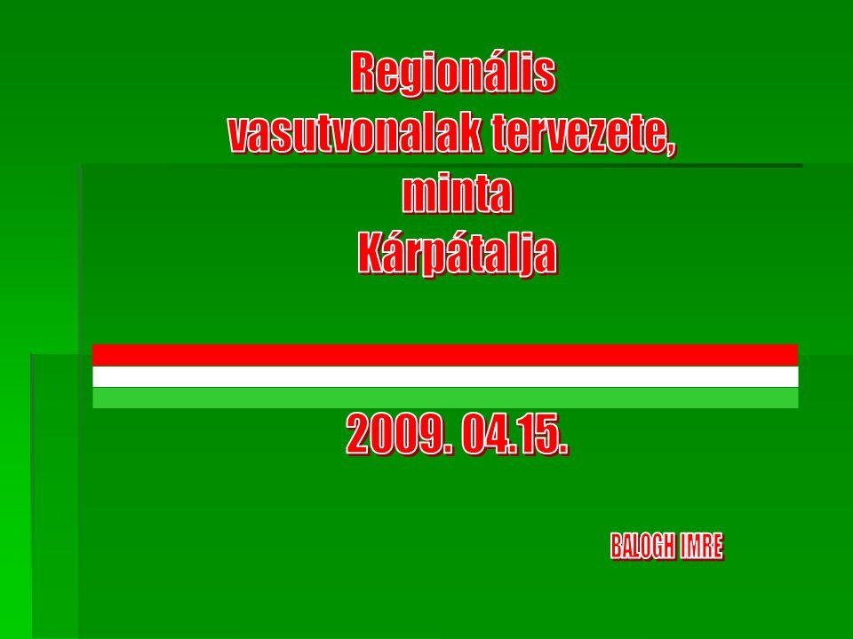 Bevezető, 1.Történeti áttekintés, 2.Előzmények 3.Normál nyomtávolságú vasúti kapcsolatok, 4.