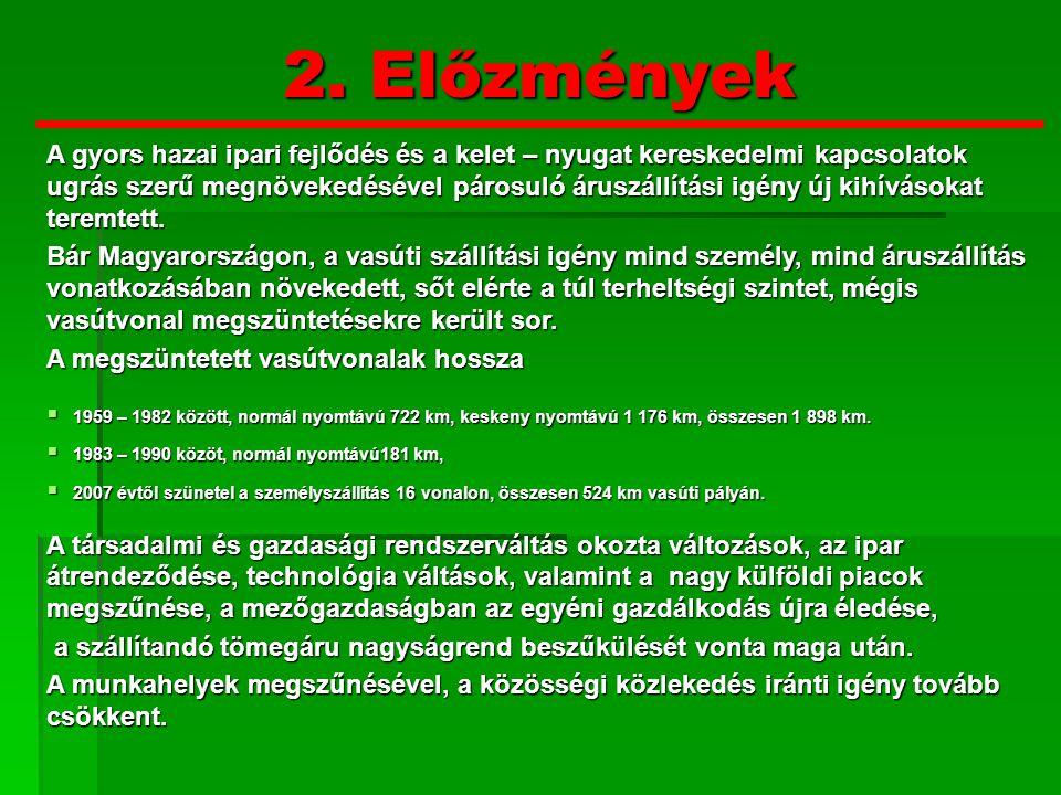 2.Előzmények MÁV.