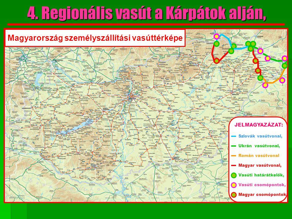 4. Regionális vasút a Kárpátok alján,