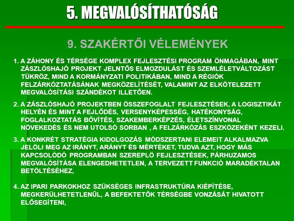 5.MEGVALÓSÍTHATÓSÁG 5.