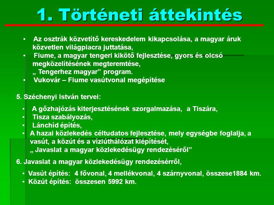 A Duna, a Tisza és mellékfolyóik szabályozása, A Dráva hajózhatóvá tétele, Kisebb folyók felmérése hajózhatóság szempontjából, Hajózási tervek készítése, A Sió csatorna rendezése, 7.