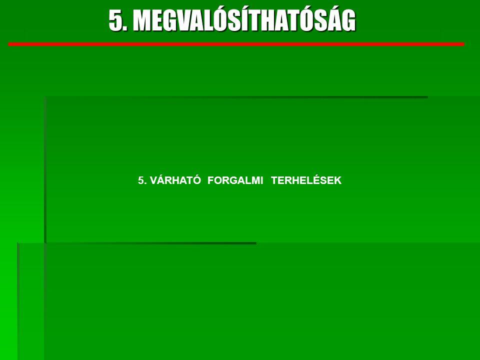 5. MEGVALÓSÍTHATÓSÁG 6. BECSÜLT FEJLESZTÉSI ELŐIRÁNYZAT