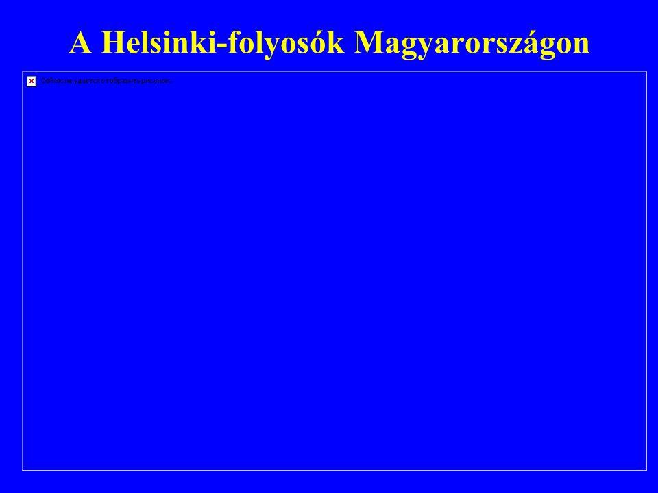 A Helsinki-folyosók Magyarországon