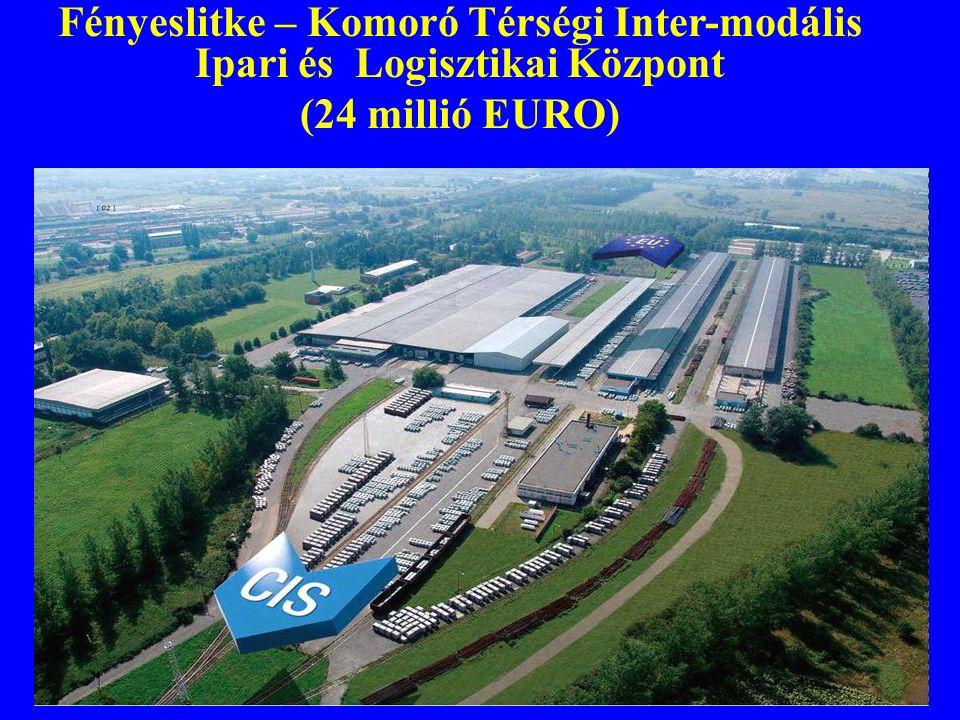 Fényeslitke – Komoró Térségi Inter-modális Ipari és Logisztikai Központ (24 millió EURO)