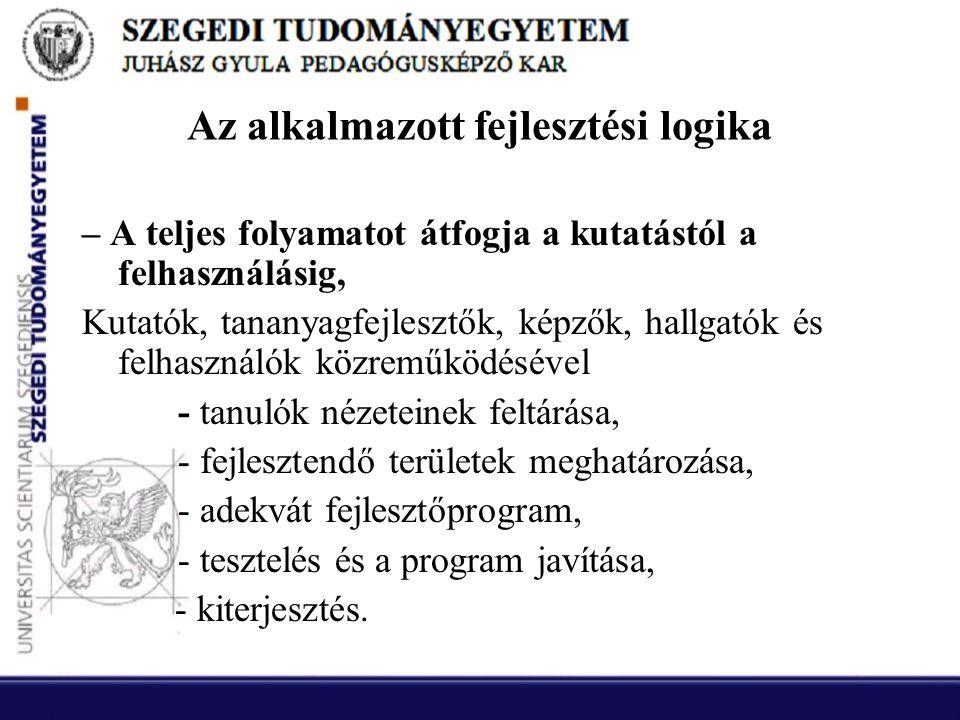 Fejlesztési logika kiterjesztése II.