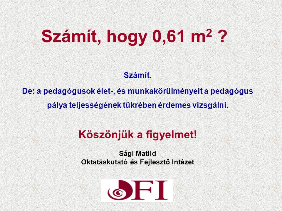 Számít, hogy 0,61 m 2 .Számít.