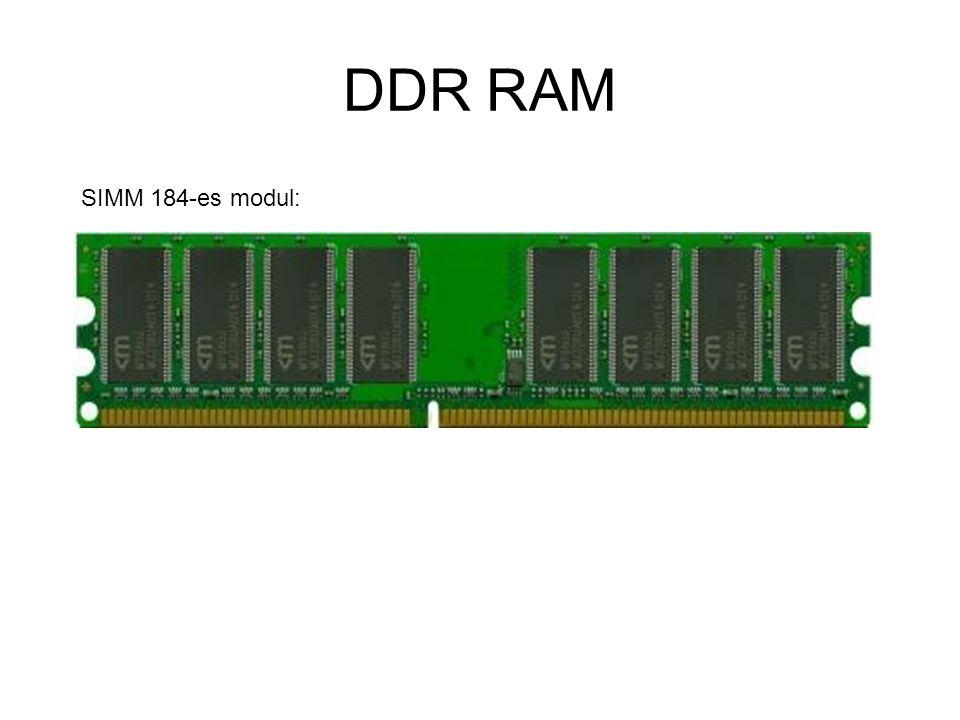DDR RAM SIMM 184-es modul: