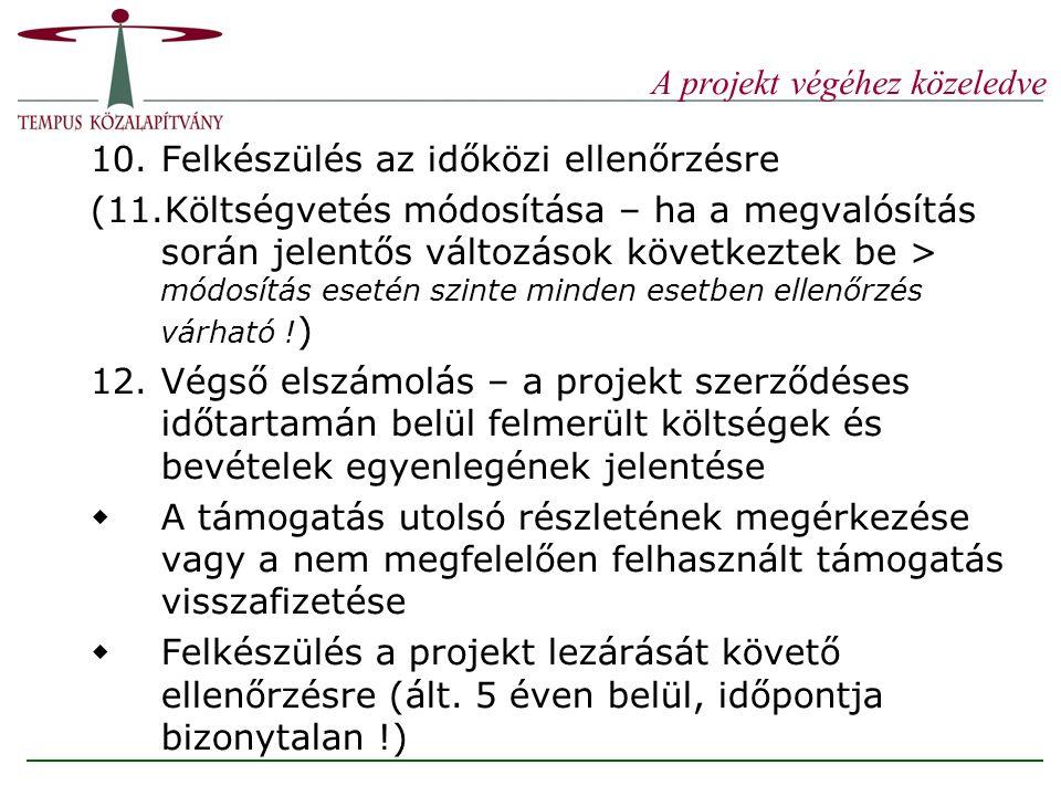 A támogatás mértéke 100% (pl: egyes HEFOP-s projektek) 97,5%(pl.