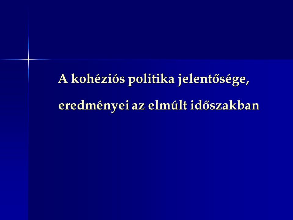 Kohéziós politika jövőjéről szóló vita 2001.január 31.