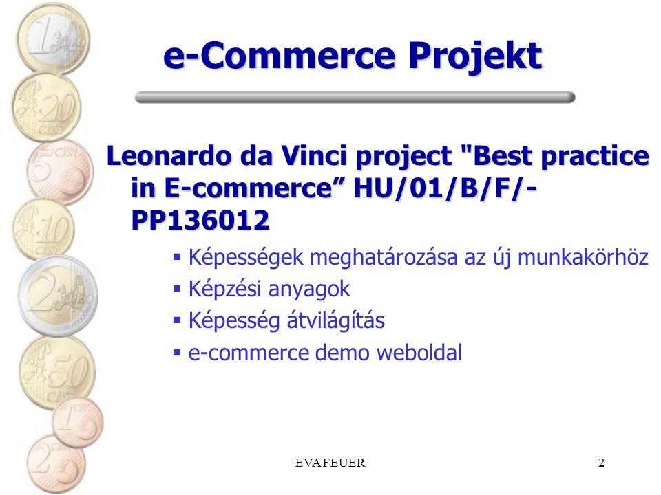 EVA FEUER2 e-Commerce Projekt Leonardo da Vinci project