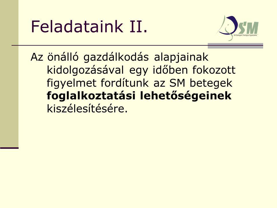 Feladataink II.