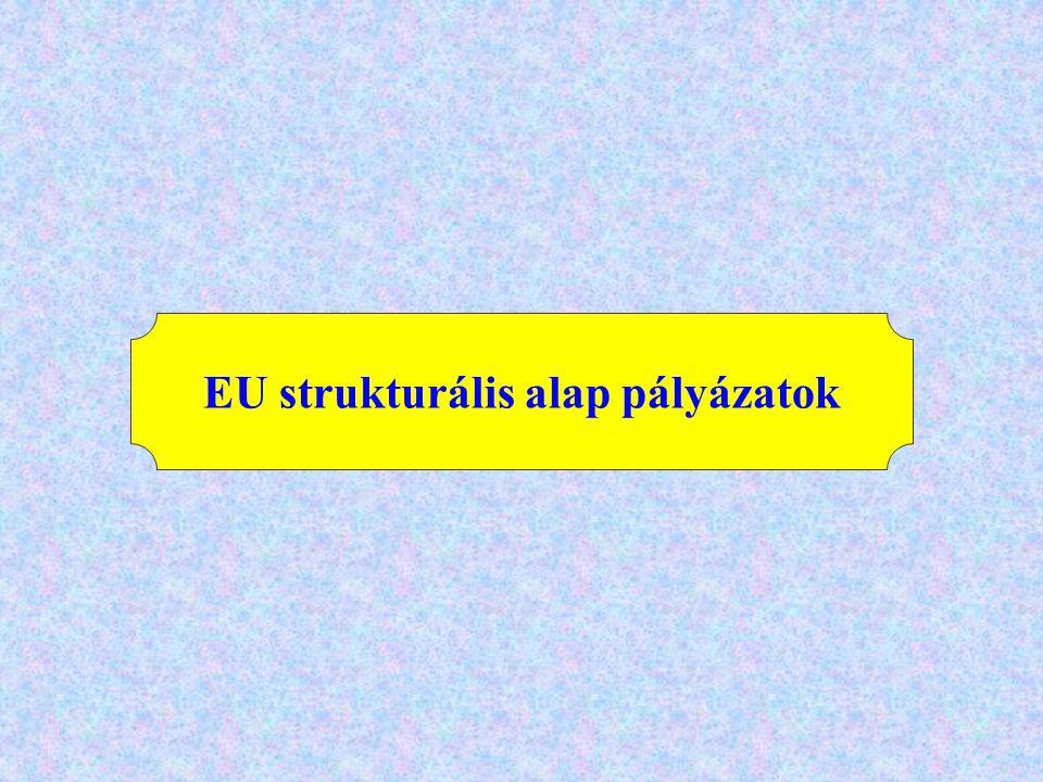 EU strukturális alap pályázatok