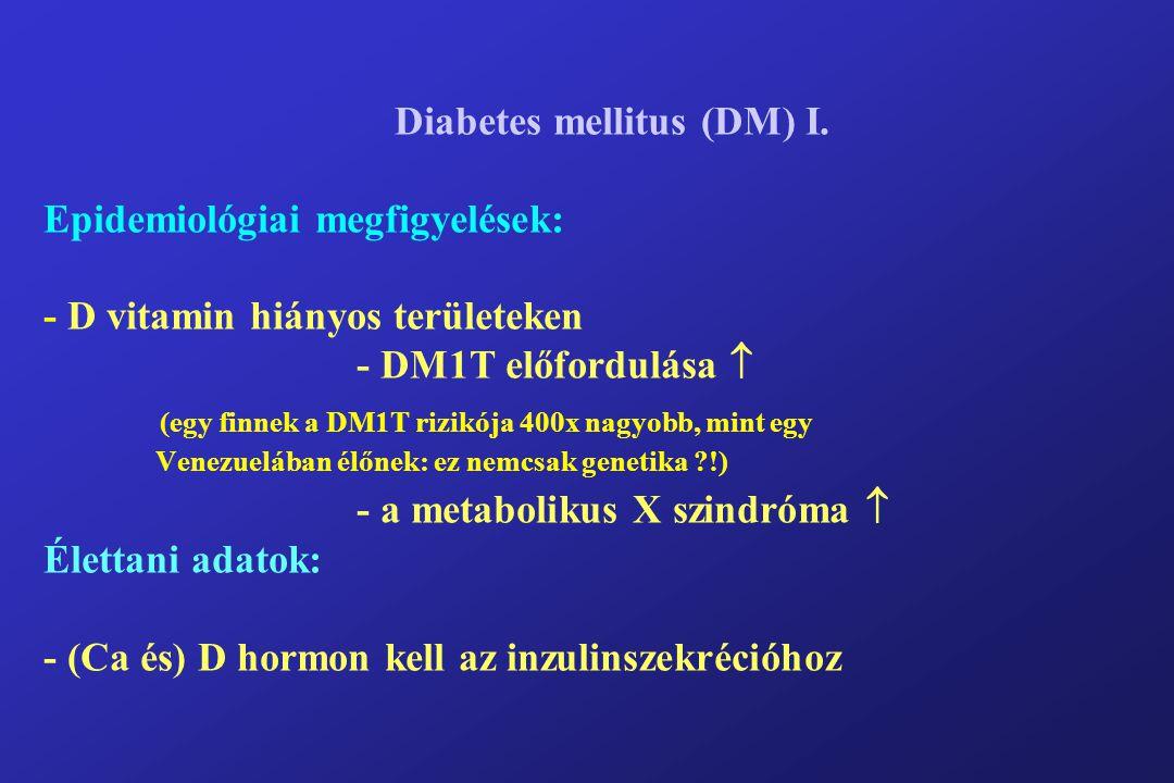 Diabetes mellitus (DM) I.