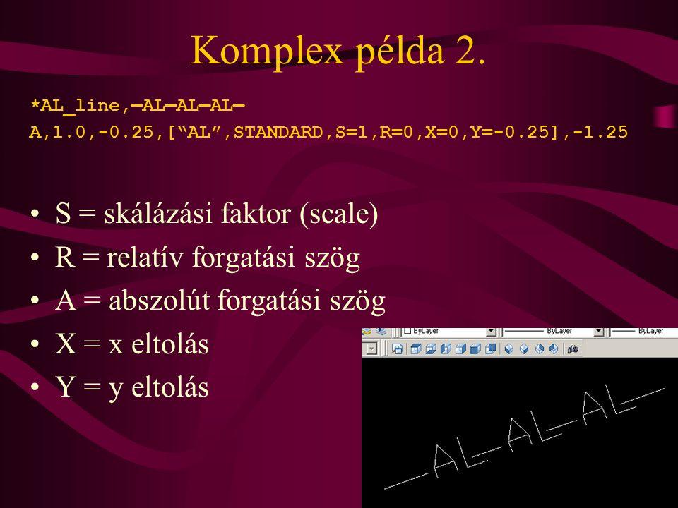 Komplex példa 2.