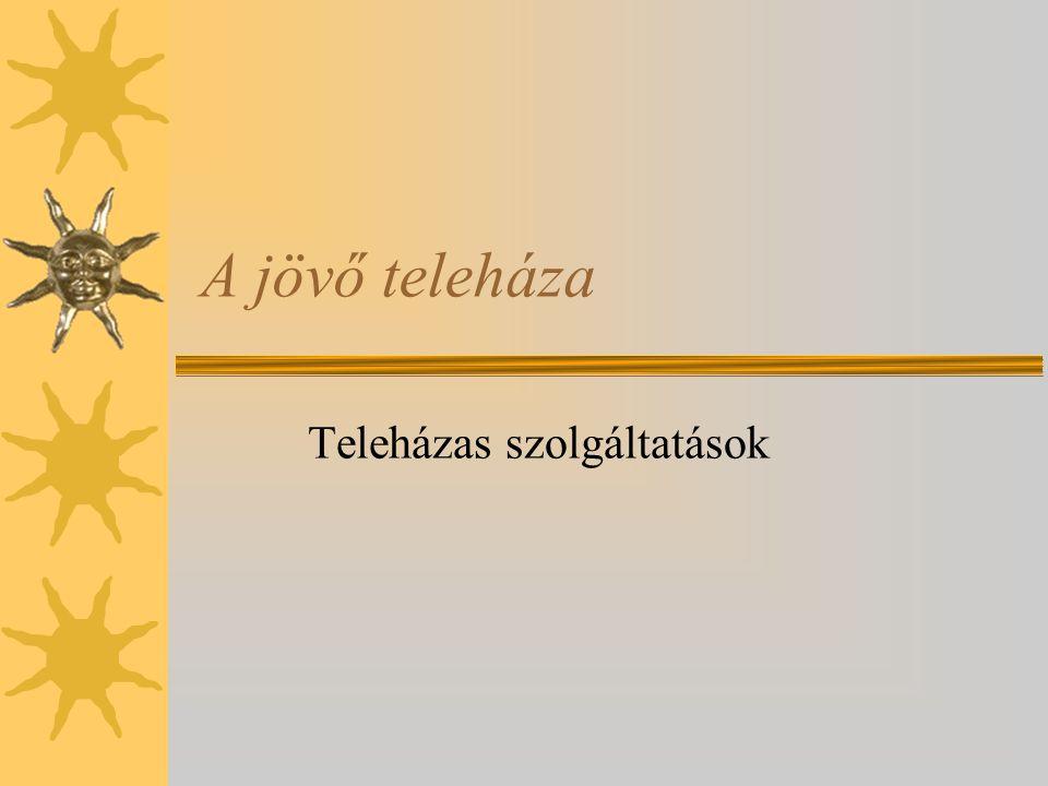 Belső környezet - Teleházas történet 1995-től napjainkig - Teleházak jelenlegi száma - Teleházas kultúra és identitás - Teleházas jellemzők (működtetők, státusz és forrása, szolgáltatások, bevételek) - Teleházas stratégiánk 2007-13)