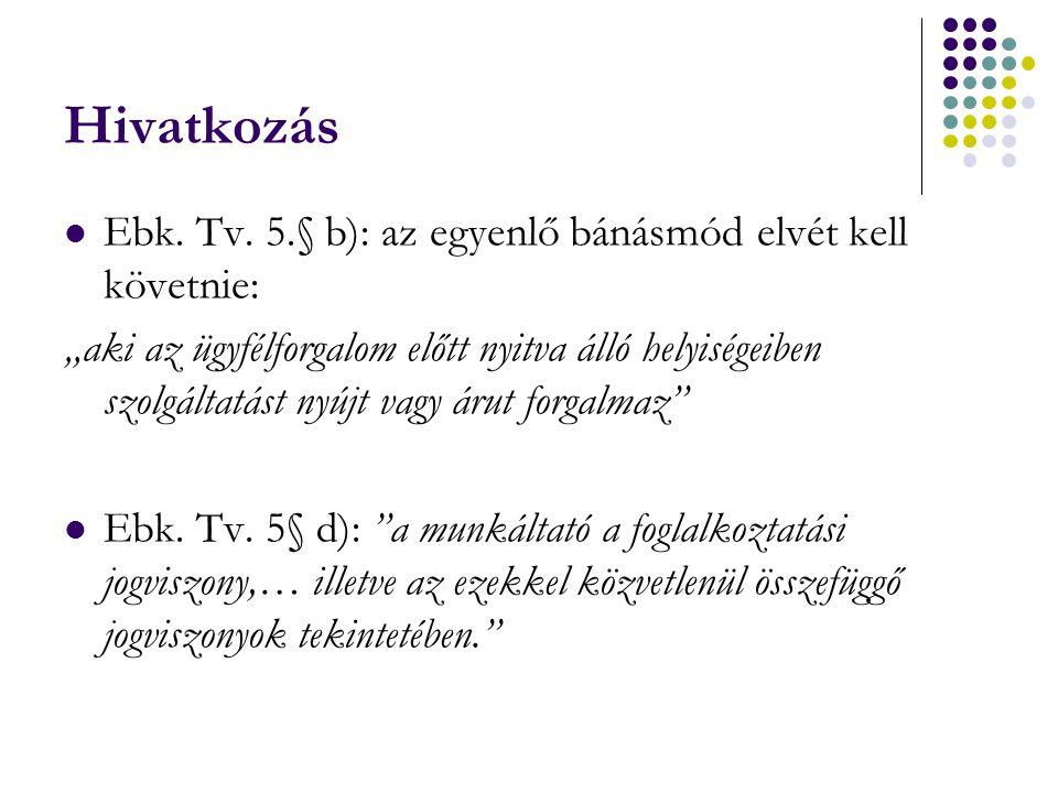 Hivatkozás Ebk.Tv.