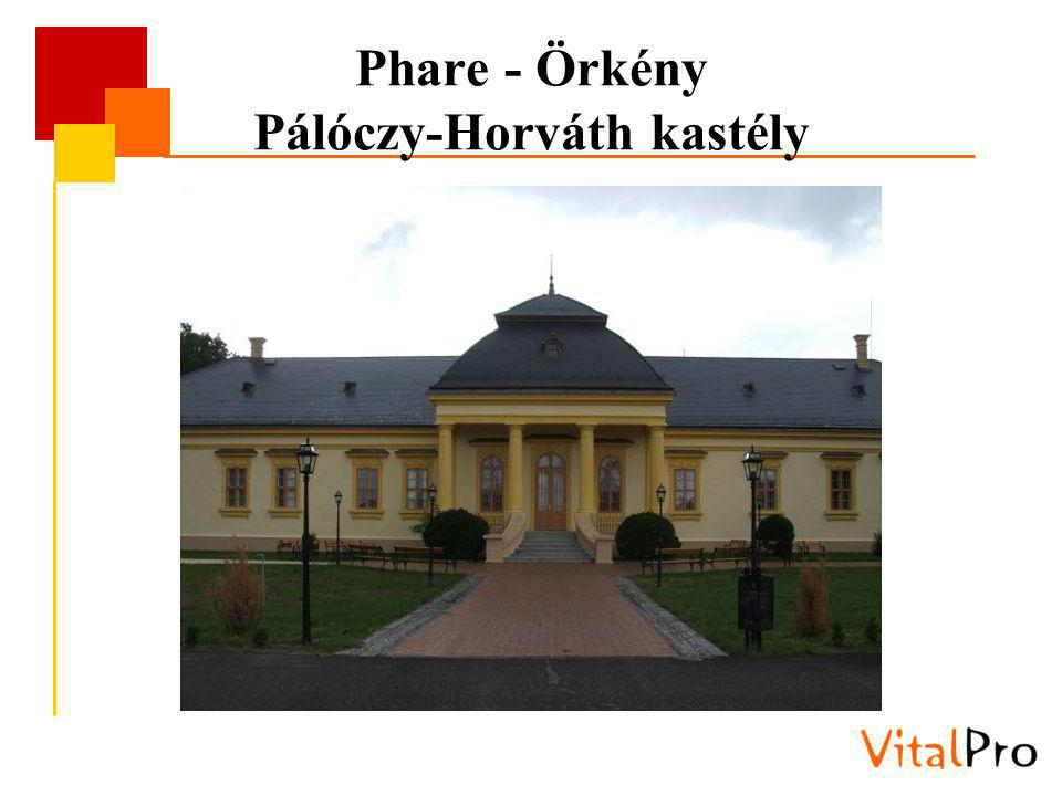 Phare - Örkény Pálóczy-Horváth kastély