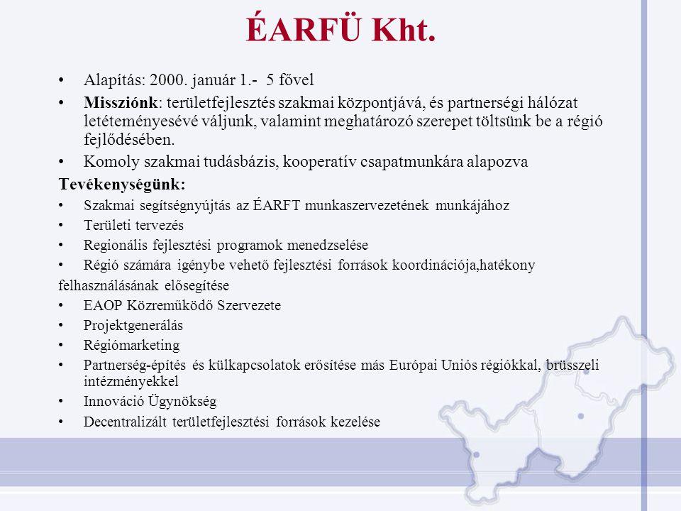 OP-k megoszlása 2004-2006 Beérkezett pályázatok (db) IH által támogatott pályázatok (db) Forrás: NFÜ, 2007.