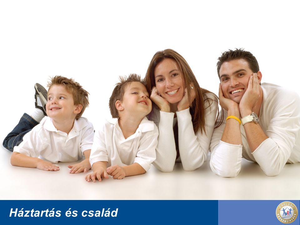Háztartás és család