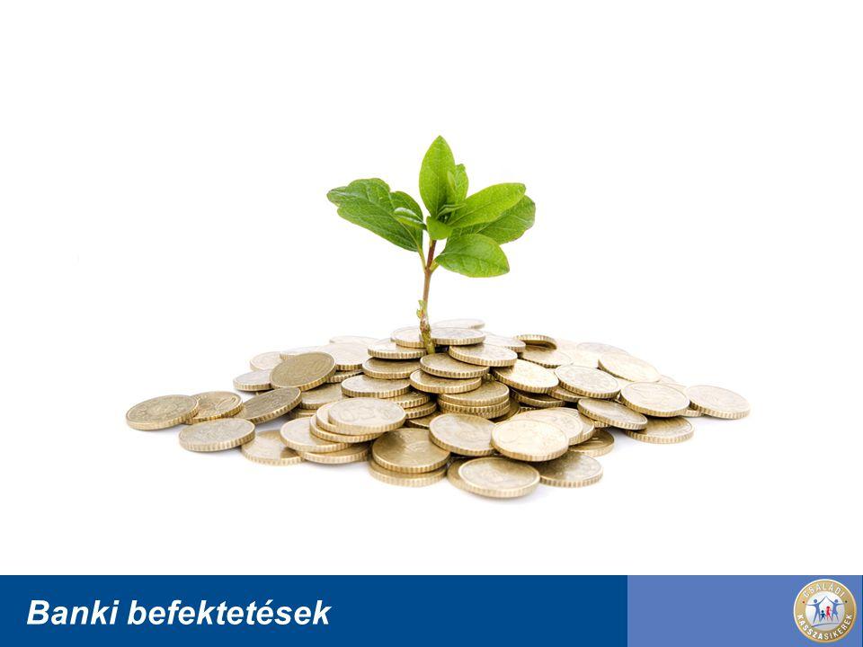 Banki befektetések