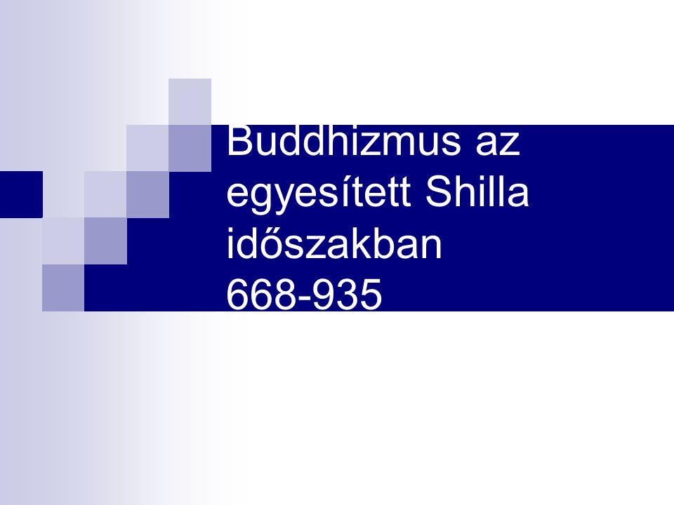Buddhizmus az egyesített Shilla időszakban 668-935