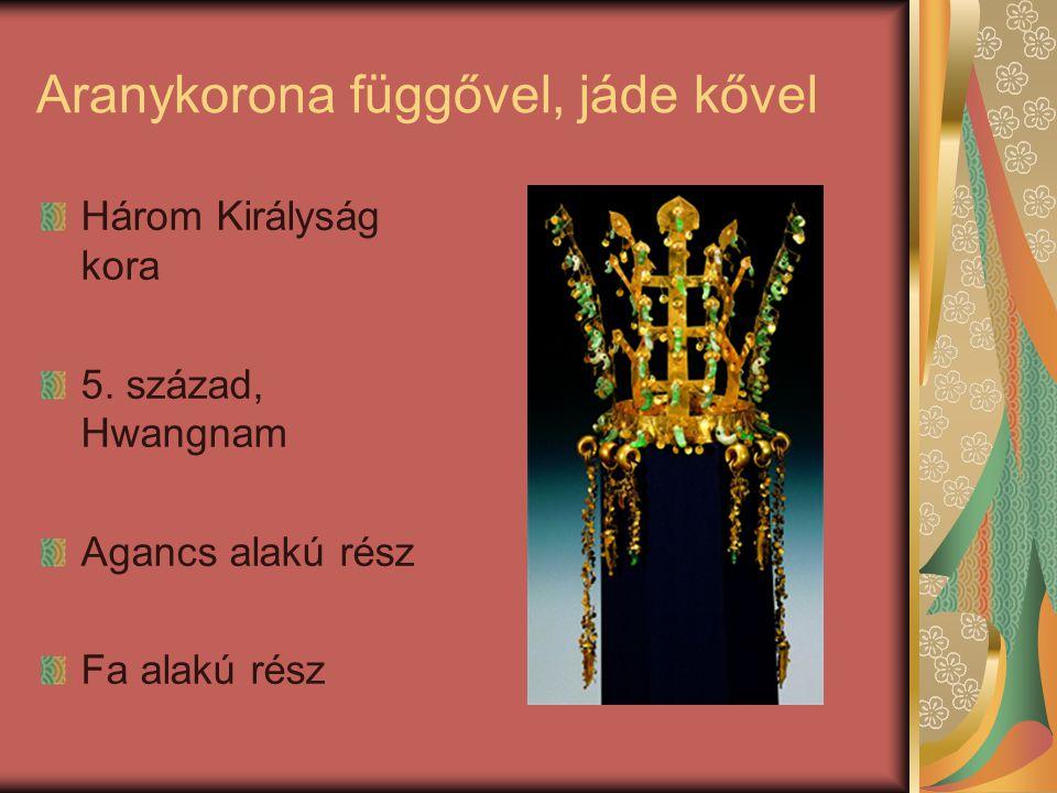 Aranykorona függővel Három Királyság kora 5-6.