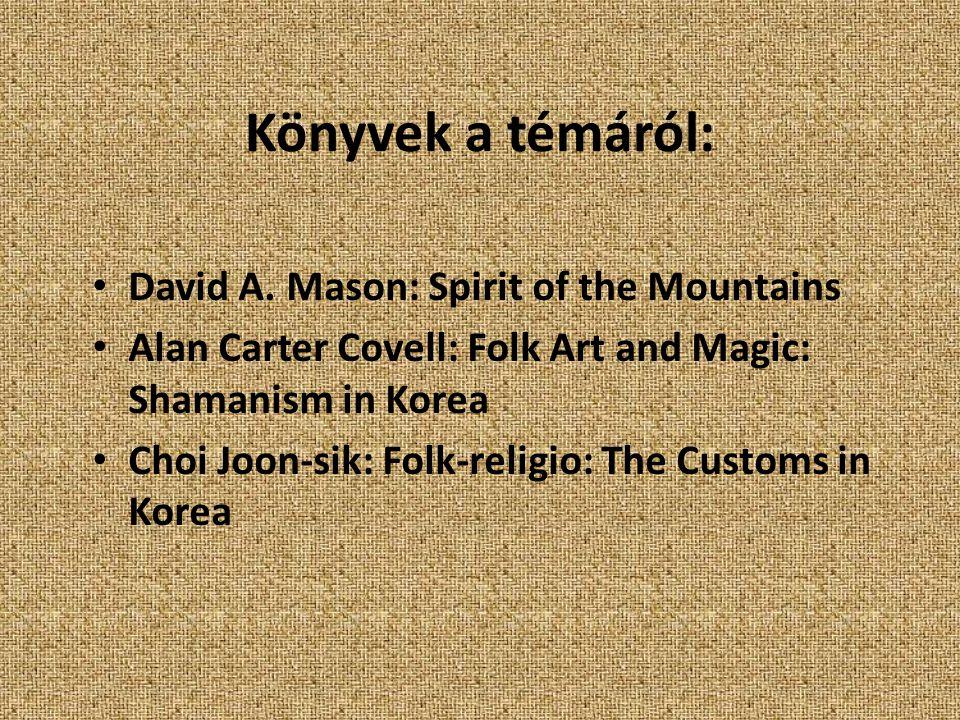Könyvek a témáról: David A.