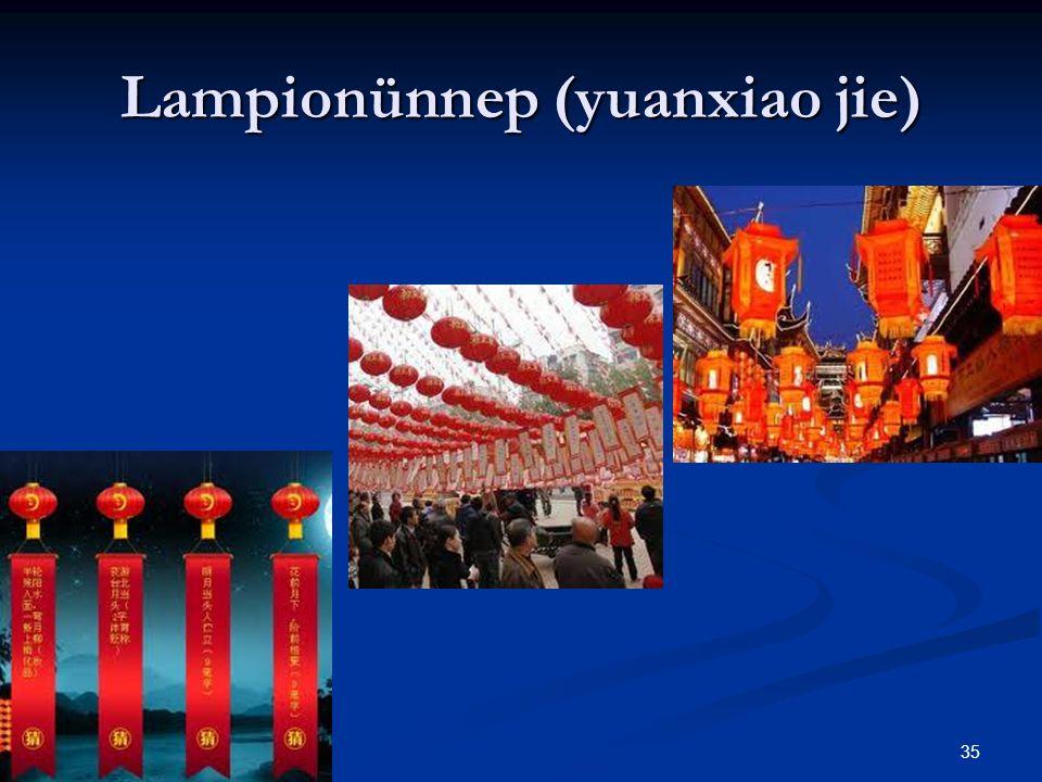 35 Lampionünnep (yuanxiao jie)