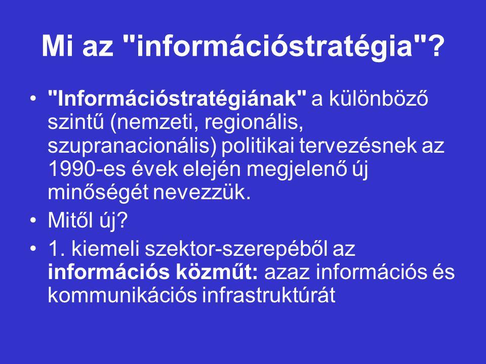 Mi az információstratégia .