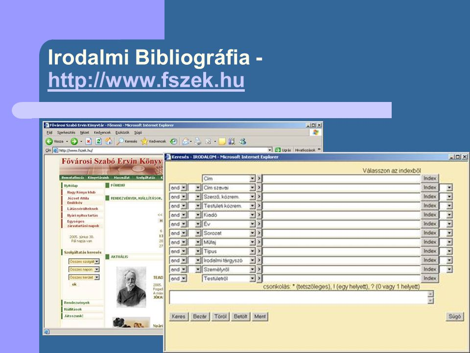 Bibliográfia: ARATO Antal: Tallózó In: Könyvtáros 41.