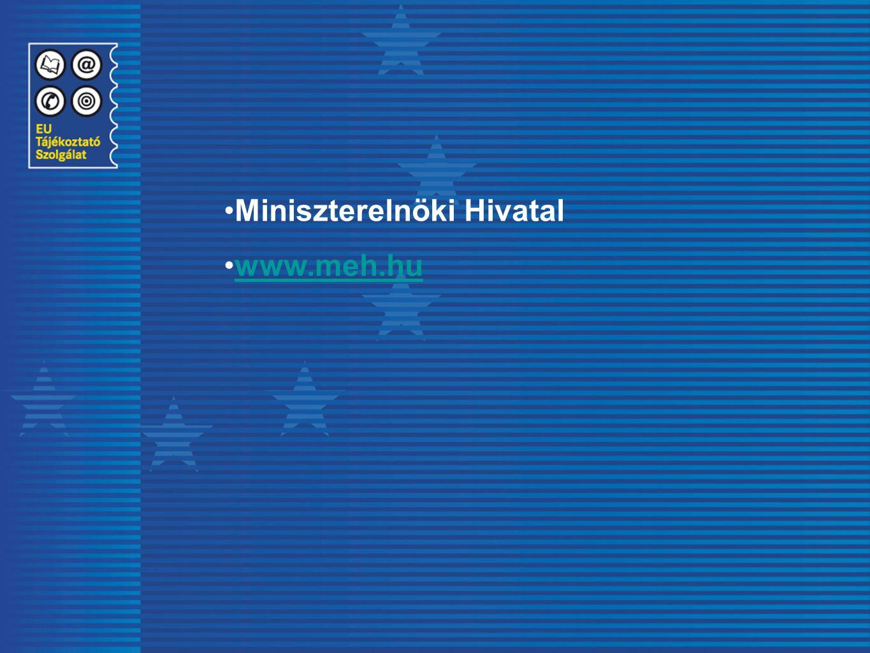 Miniszterelnöki Hivatal www.meh.hu