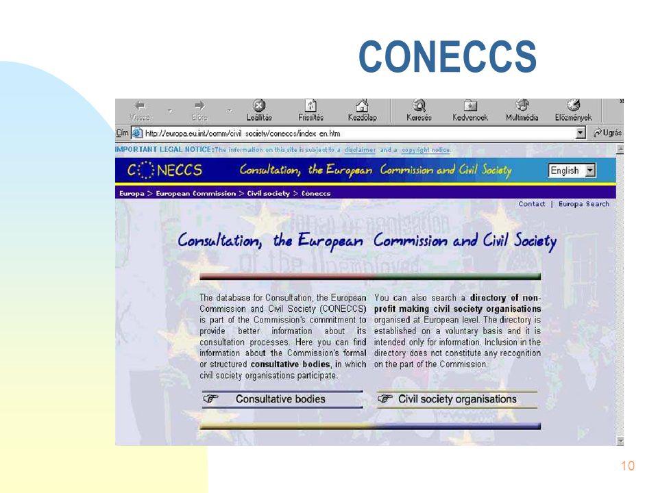 10 CONECCS