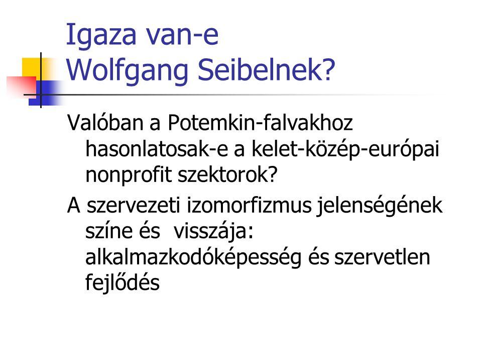 Igaza van-e Wolfgang Seibelnek.