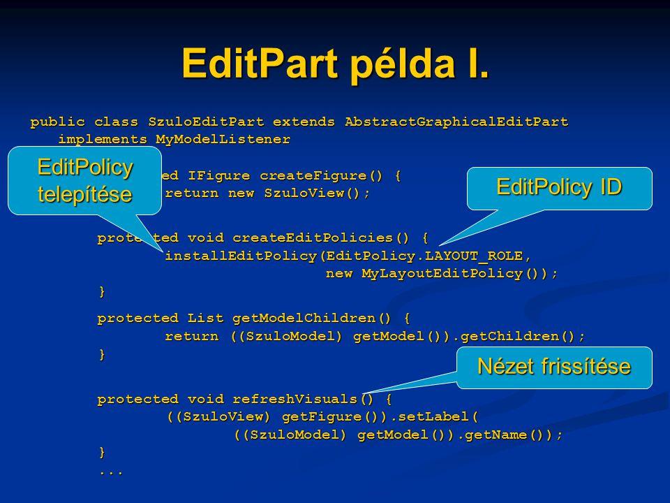 EditPart példa I.