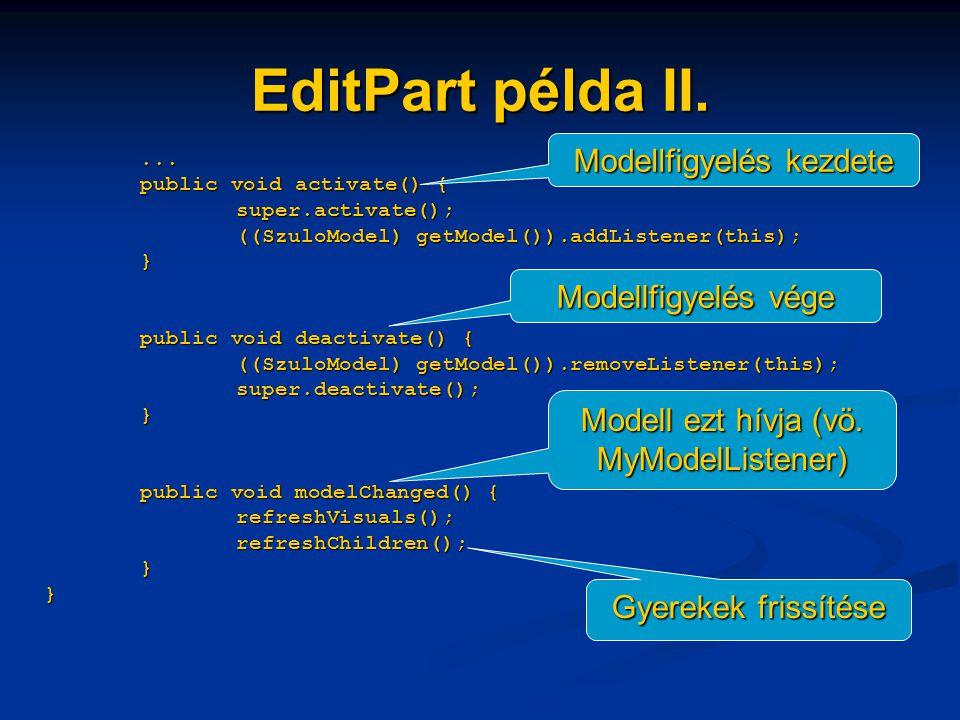 EditPart példa II....