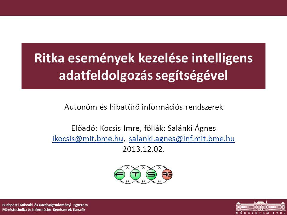 Apriori információval,1 ritka osztály – NNDB Módszer.