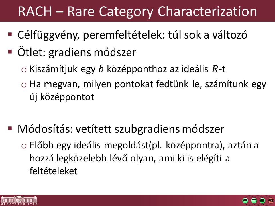 RACH – Rare Category Characterization