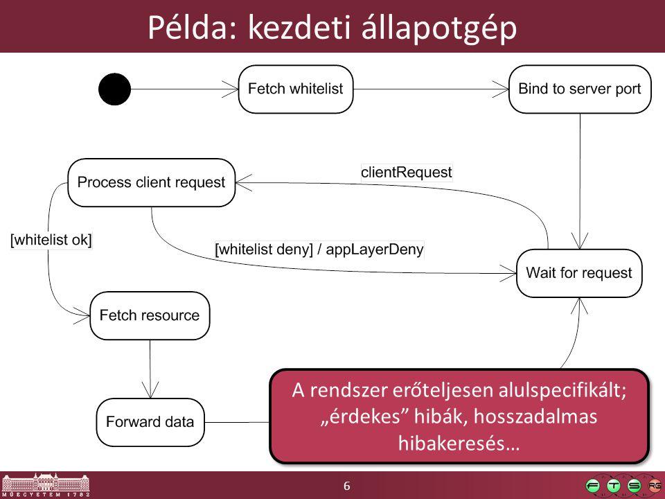 27 Log források és nyelők ICollection LogEntry.Categories Egy forráshoz több listener is tartozhat.