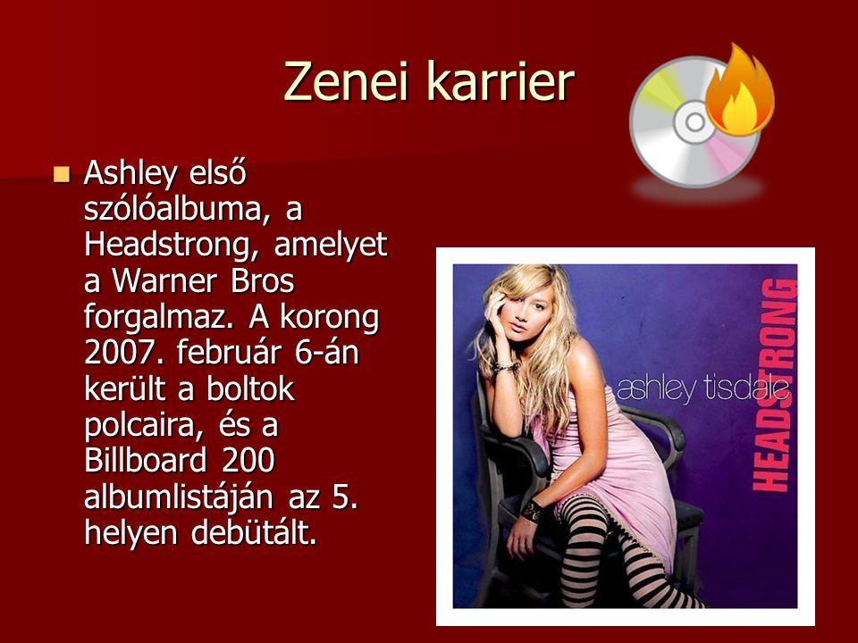 Zenei karrier Ashley első szólóalbuma, a Headstrong, amelyet a Warner Bros forgalmaz. A korong 2007. február 6-án került a boltok polcaira, és a Billb